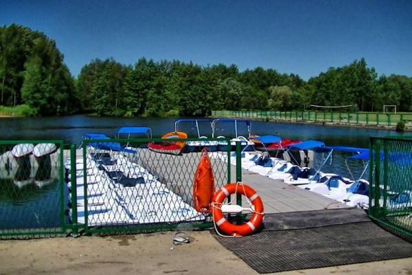 Wypożyczalnia sprzętu wodnego w Parku Lisiniec już otwarta!