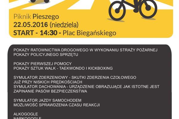 """Aktywna Częstochowa wspiera bezpieczeństwo i zaprasza na """"Piknik Pieszego"""""""