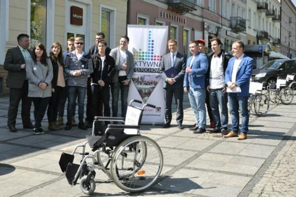 Strefa płatnego parkowania za darmo dla niepełnosprawnych w Częstochowie!