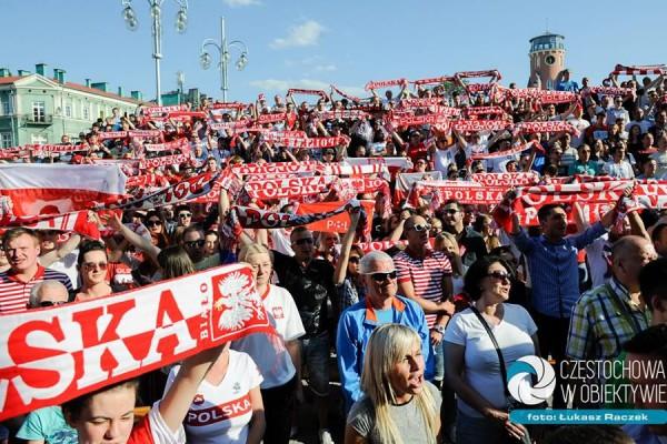 Już dziś mecz Polska - Niemcy oraz koncert Red Lips w Strefie Kibica