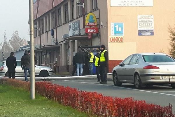 Nieznani sprawcy wysadzili bankomat w dzielnicy Północ [ZDJĘCIA]
