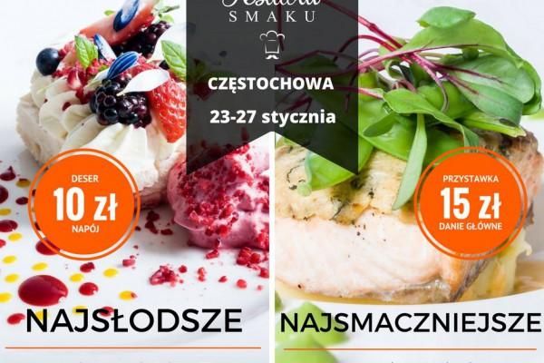 Trwa Festiwal Smaku w Częstochowie - gdzie i co możecie zjeść? [MAPA RESTAURACJI]