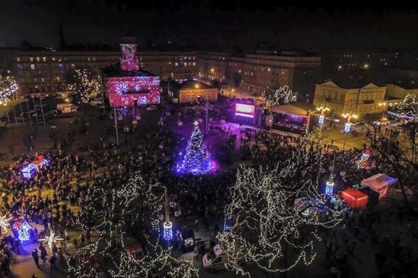 Częstochowa najpiękniej rozświetlonym miastem województwa śląskiego