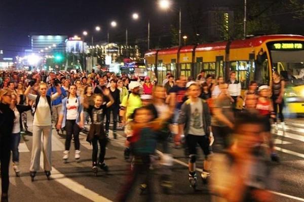 Po raz pierwszy w Częstochowie - Nightskating nocny przejazd na rolkach po mieście!