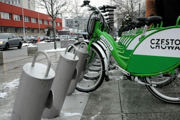 System rowerów miejskich w Częstochowie zdał testy na 5!