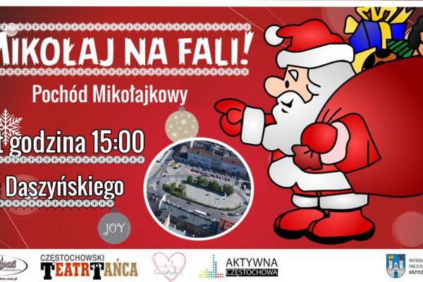 Mikołaj Na Fali - Pochód Mikołajkowy!