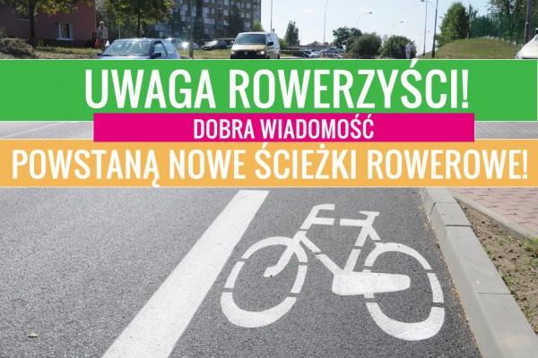 Powstaną kolejne ścieżki rowerowe! Tym razem ścieżka powstanie wzdłuż Alei Jana Pawła II.