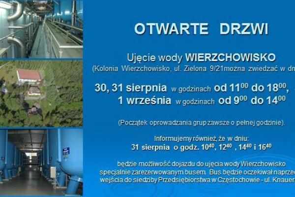Dni otwarte w Wodociągach Częstochowskich.