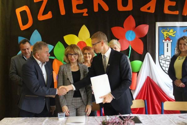 Umowa na rozbudowę Szkoły Podstawowej nr 47 podpisana