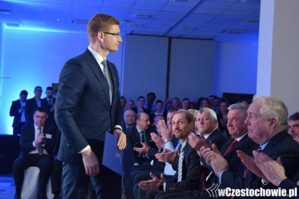 Prezydent Częstochowy z wyróżnieniem za wsparcie rozwoju nowoczesnych usług biznesowych