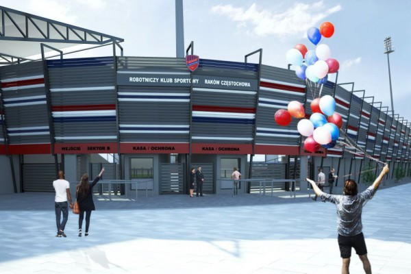 Prezydent Częstochowy nie czeka na spełnienie obietnic rządowych i planuje środki na przebudowę stadionu Rakowa