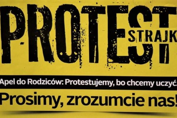 Strajk nauczycieli w Częstochowie. Szkoły otwarte, egzaminy odbędą się!