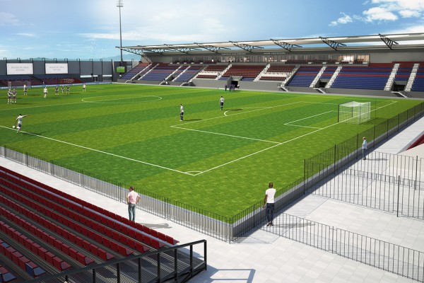 Dokumentacja modernizacji stadionu Rakowa na finiszu. Wkrótce przetarg na roboty budowlane