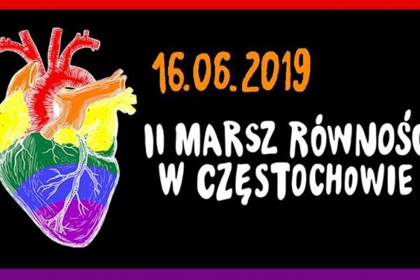 II Marsz Równości przejdzie w niedzielę przez centrum Częstochowy