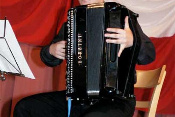Charytatywny koncert dla częstochowskiego akordeonisty Piotra Biazika