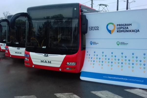 Coraz więcej klimatyzowanych autobusów w Częstochowie