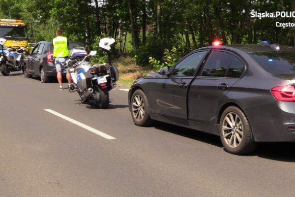 KMP Częstochowa. Policja musiała oddać strzały, żeby zatrzymać pijanego kierowcę