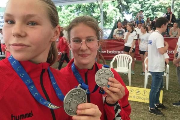 Dwa medale częstochowskiej pięcioboistki na mistrzostwach świata!