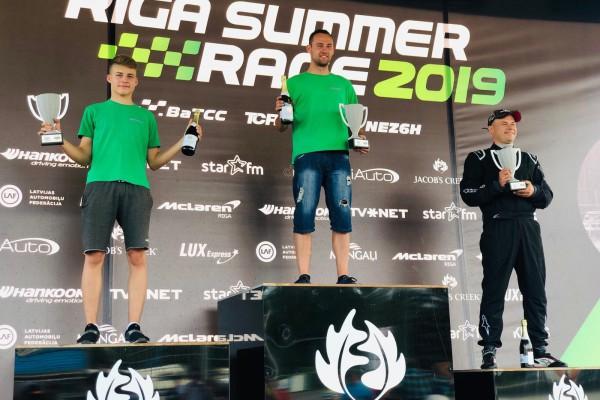 Bartek Mirecki znów najlepszy w Wyścigowych Samochodowych Mistrzostwach Polski