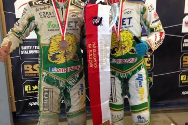 Młodzieżowcy Włókniarza z brązowymi medalami MMPPK