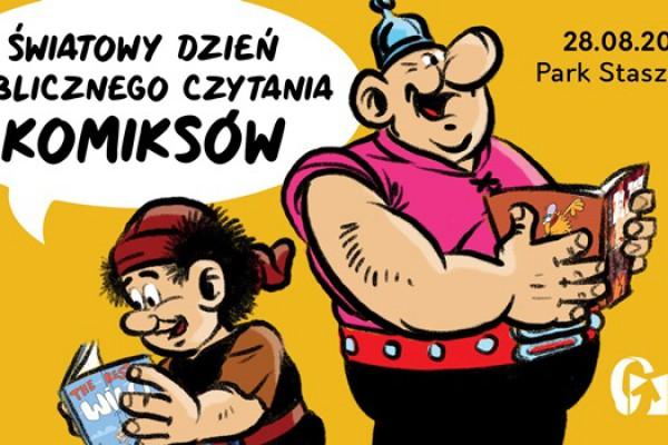 Światowy Dzień Publicznego Czytania Komiksów w Częstochowie