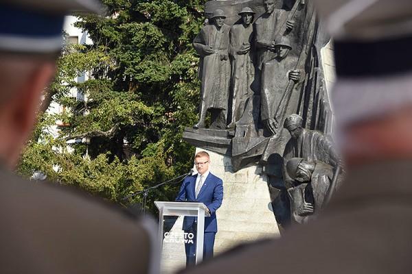 Częstochowa upamiętniła 80. rocznicę wybuchu II wojny światowej (zdjęcia)