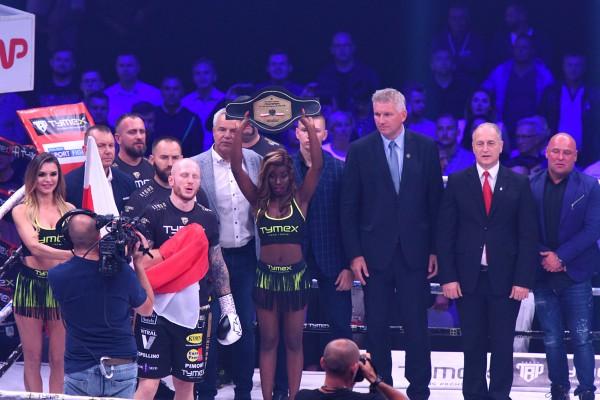 Tymex Boxing Night 9 w HSC. Parzęczewski i Brodnicka wygrali swoje walki o mistrzowskie pasy