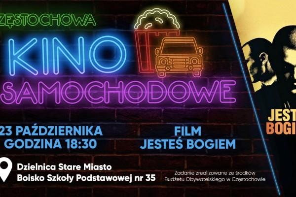 Kino samochodowe wjeżdża do Częstochowy