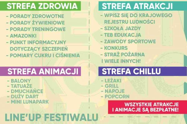 Festiwal - Koncerty w dzielnicy Raków już w sobotę