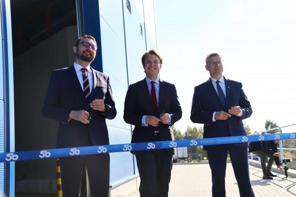 Nowoczesne centrum logistyczne Huty Stoelzle Częstochowa już otwarte