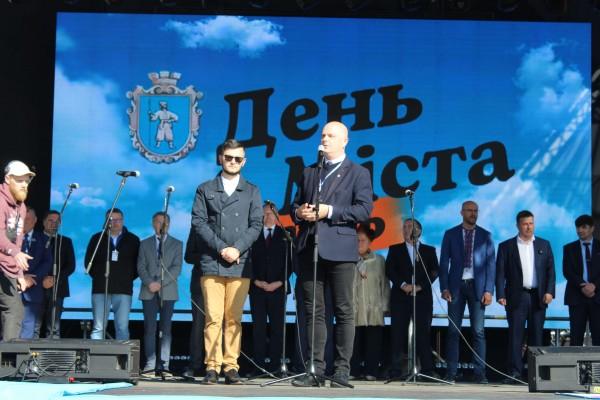 Częstochowska delegacja na święcie partnerskiego miasta z Ukrainy (zdjęcia)