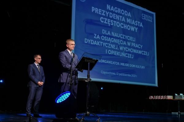 Częstochowscy nauczyciele nagrodzeni przez prezydenta miasta