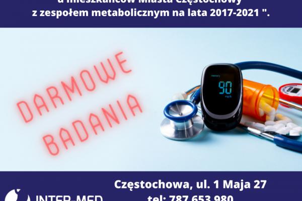 Wczesne wykrywanie cukrzycy. Bezpłatny program zdrowotny w Częstochowie